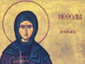 The saint of Kimolos: Osia Methodia